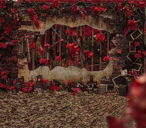 【为爱加冕婚礼工作室】浪漫玫瑰主题婚礼